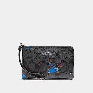 Coach Bags - NWT Coach Bird Print Wristlet Wallet